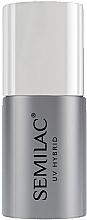 Perfumería y cosmética Top coat gel, sin capa pegajosa, UV - Semilac Top No Wipe Sparkle Diamond