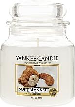 Perfumería y cosmética Vela en tarro con aroma a ámbar & flor de tabaco - Yankee Candle Soft Blanket
