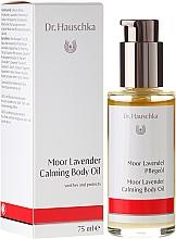 Perfumería y cosmética Aceite corporal calmante con lavanda - Dr. Hauschka Moor Lavender Calming Body Oil