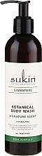 Perfumería y cosmética Gel de ducha refrescante con aloe, camomila y aceites de rosa silvestre, jojoba y aguacate - Sukin Botanical Body Wash