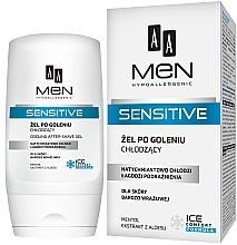Perfumería y cosmética Bálsamo after shave con mentol y extracto de aloe vera - AA Men Sensitive After-Shave Gel Cooling