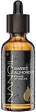 Perfumería y cosmética Aceite de almendra dulce para cuerpo y cabello - Nanoil Body Face and Hair Sweet Almond Oil