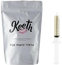 Perfumería y cosmética Kit jeringuilla de gel blanqueador dental con sabor a limón (recarga) - Keeth Lemon Refill Pack