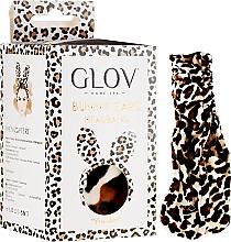 Perfumería y cosmética Cinta de pelo, orejas de leopardo - Glov Spa Bunny Ears Headband Safari Edition