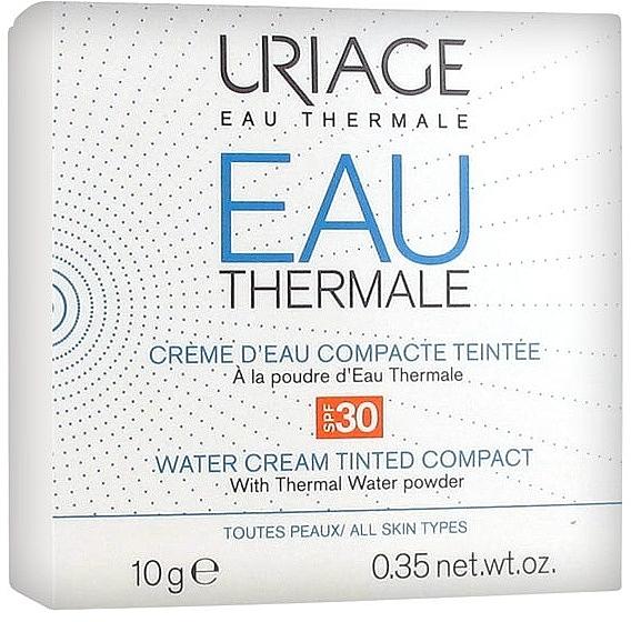Crema de agua compacta con color - Uriage Eau Thermale Water Tinted Cream Compact SPF30