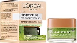 Perfumería y cosmética Exfoliante facial de azúcar con semillas de kiwi - L'Oreal Paris Sugar Scrubs
