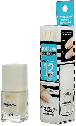 Acondicionador de uñas nutritivo - Delia Super Total Restoration Nail Conditioner