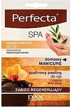 Perfumería y cosmética Mascarilla-serum regeneradora para manos con extracto de árnica - Perfecta Spa Hand Peeling