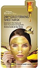Perfumería y cosmética Mascarilla facial de tejido rejuvenecedora con oro de 24K - 7th Heaven Renew You 24K Gold Firming Sheet Mask