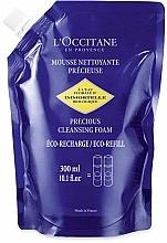 Perfumería y cosmética Espuma de limpieza facial con agua de siempreviva (doypack) - L'Occitane Immortelle Precious Cleansing Foam