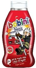 Perfumería y cosmética Gel de ducha y baño infantil con extracto de avena - Bobini Super héroe 2in1