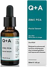 Perfumería y cosmética Sérum facial con Zinc PCA - Q+A Zinc PCA Facial Serum