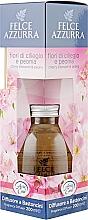 Perfumería y cosmética Ambientador Mikado, flor de cerezo y peonía - Felce Azzurra Cherry Blossoms