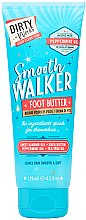Perfumería y cosmética Manteca para pies con aceites de almendra dulce y arbol de té - Dirty Works Smooth Walker Foot Butter