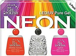 Perfumería y cosmética Set para uñas - IBD Just Gel Polish Neon Kit (esmalte en gel/3*14ml)