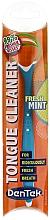 Perfumería y cosmética Raspador de lengua con sabor a menta, azul - DenTek Comfort Clean