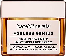 Perfumería y cosmética Crema para cuello con péptidos y extractos de edelweiss & algas - Bare Escentuals Bare Minerals Moisturizer Ageless Genius Firming & Wrinkle Smoothing Neck Cream