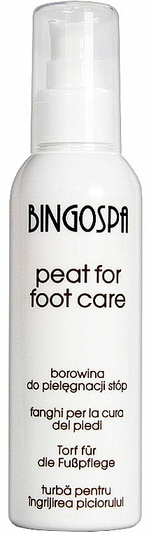 Bálsamo de turba para pies - BingoSpa The Mud Feet