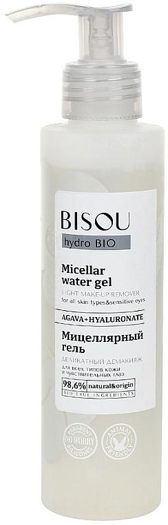 Gel micelar de limpieza facial con ácido hialurónico - Bisou Hydro Bio Micellar Water Gel