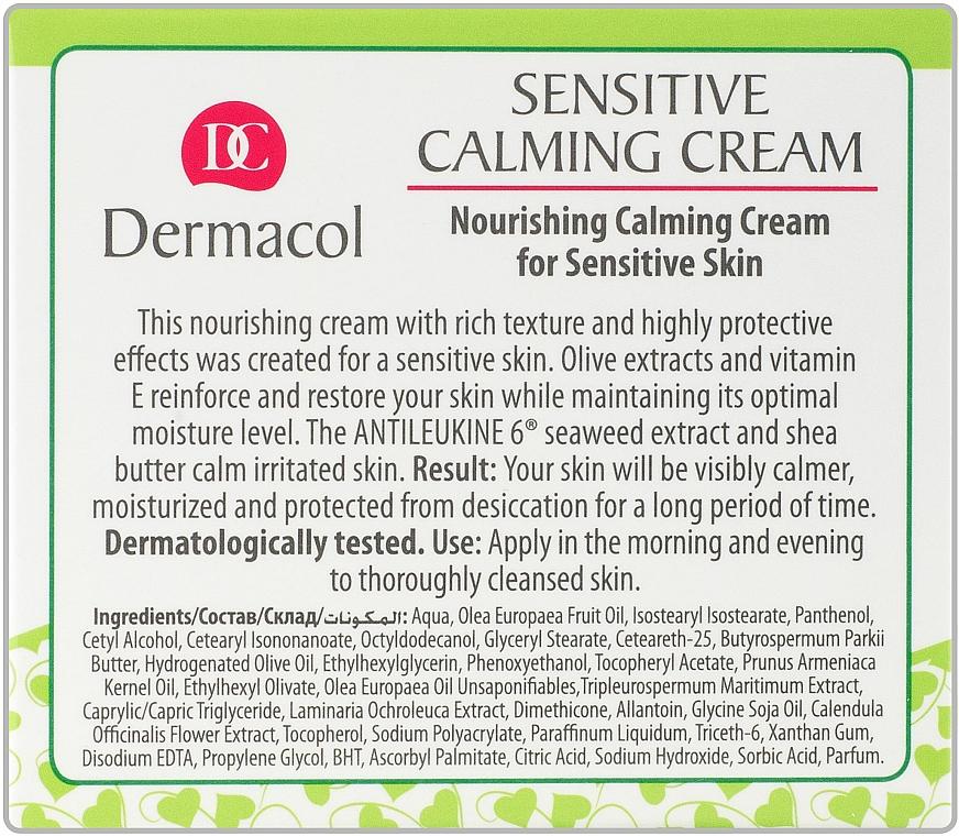 Crema facial calmante con extracto de algas - Dermacol Sensitive Calming Cream — imagen N4