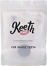 Perfumería y cosmética Kit de limpieza dental - Keeth Mint Charcoal Kit (cepillo de bambú/1ud. + polvo de carbón activado/15g)