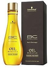 Perfumería y cosmética Aceite para cabello con argán, sin aclarado - Schwarzkopf Professional Bonacure BC