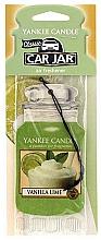 Perfumería y cosmética Ambientador de coche, lima y vainilla - Yankee Candle Car Jar Vanilla Lime