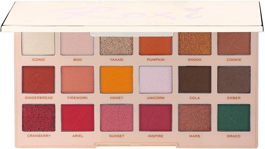 Paleta de sombras de ojos - Makeup Revolution X Roxxsaurus Roxi Eye Shadow Palette