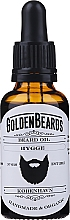 Perfumería y cosmética Aceite orgánico artesanal para barba con jojoba, argán y almendras dulces - Golden Beards Beard Oil Hygge