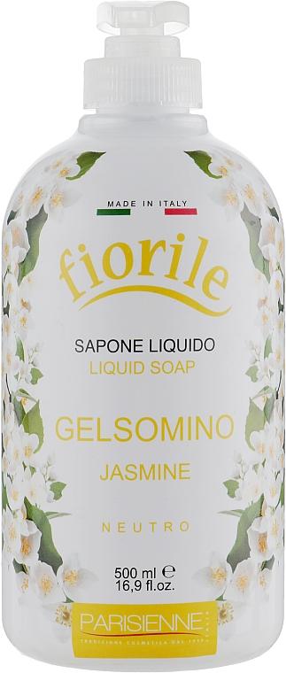 Jabón líquido con aroma a jazmín - Parisienne Italia Fiorile Jasmine Liquid Soap