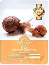 Perfumería y cosmética Mascarilla facial de celulosa nutritiva e hidratante con baba de caracol - Grace Day Traditional Oriental Mask Sheet Snail