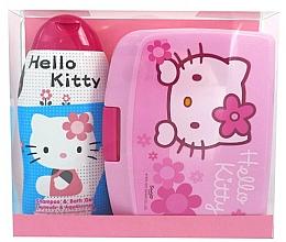 Perfumería y cosmética Set corporal - Disney Hello Kitty (champú y gel de ducha 300ml + caja de almuerzo)