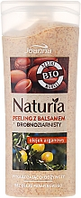 Perfumería y cosmética Gel de ducha exfoliante bio natural con aceite de argán sin parafina - Joanna Naturia Argan Oil Peeling