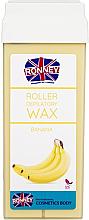 Perfumería y cosmética Cartucho de cera depilatoria roll-on, plátano - Ronney Wax Cartridge Banana