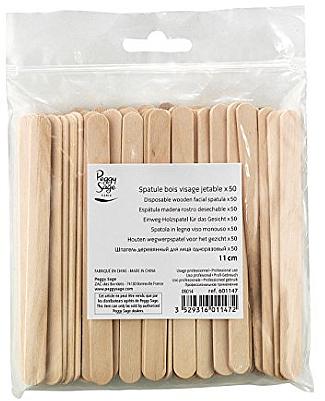 Espátulas de madera para cera depilatoria - Peggy Sage