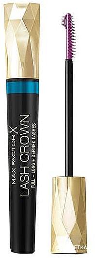 Máscara de pestañas resistente al agua para volumen y definición - Max Factor Lash Crown Mascara Waterproof