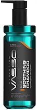 Perfumería y cosmética Champú calmante hipoalergénico con extracto de ocuje africano - Vasso Professional Shooting Hair Shampoo Dermo