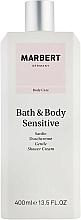 Perfumería y cosmética Crema de ducha nutritiva y calmante para piel sensible - Marbert Bath & Body Sensitive Gentle Shower Cream