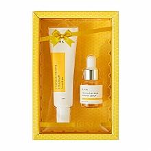 Perfumería y cosmética Set de contorno de ojos (crema/30ml + sérum/15ml) - iUNIK Propolis Vitamin Eye Cream Set