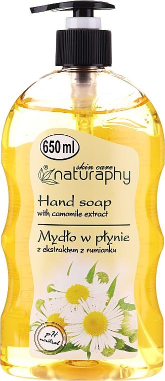 Jabón de manos líquido con extracto de camomila - Bluxcosmetics Naturaphy Hand Soap