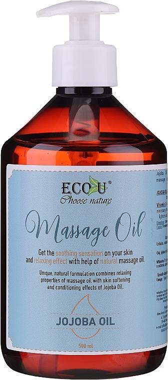 Aceite de masaje con jojoba - Eco U Jojoba Massage Oil