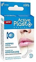 Perfumería y cosmética Parches para herpes labial ultrafinos hipoalergénicos - Ntrade Active Plast Special Herpes Patches