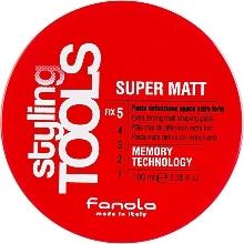 Perfumería y cosmética Pasta moldeadora de definición extra fuerte con efecto mate - Fanola Tools Super Matt Paste
