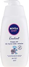 Perfumería y cosmética Gel limpiador emoliente para cuerpo y cabello sin alcohol ni jabón - Nivea Baby Pure & Sensitive Emolient