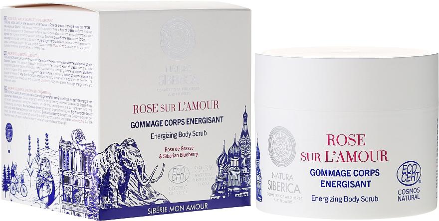Exfoliante corporal energizante con arándano siberiano - Natura Siberica Mon Amour Rose sur L`Amour Energizing Body Scrub