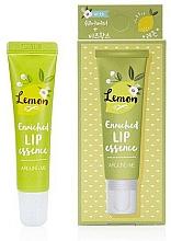 Perfumería y cosmética Esencia labial con manteca de karité y cera de abeja, sabor a limón - Welcos Around Me Enriched Lip Essence Lemon