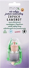 Perfumería y cosmética Ambientador de coche con aroma a lavanda - Mira