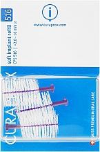 Perfumería y cosmética Set de cepillos interdentales para implantes CPS 516, 3uds. - Curaprox Soft Implant