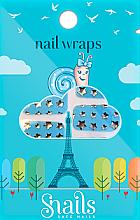 Perfumería y cosmética Pegatinas decorativas para uñas - Snails Nail Wraps (10uds.)