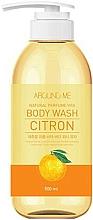 Perfumería y cosmética Gel natural de ducha con extracto de cítricos - Welcos Around Me Natural Perfume Vita Body Wash Citron